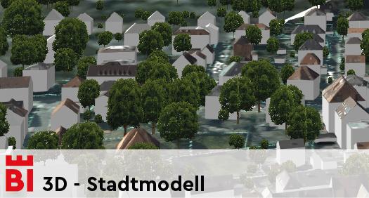 3D - Stadtmodell
